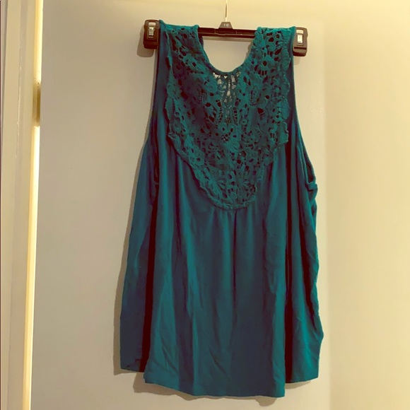 Maurices Tops - Lace necked tank top! Super soft